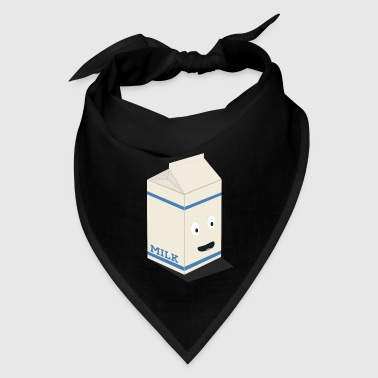 Cute kawaii milk carton - Bandana