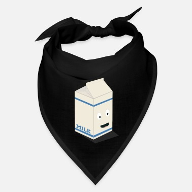 Milk Cute kawaii milk carton - Bandana