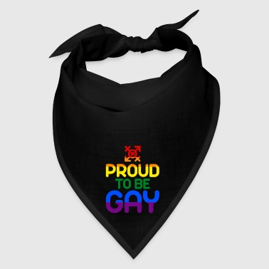 Proud to be Gay (colored) - Bandana