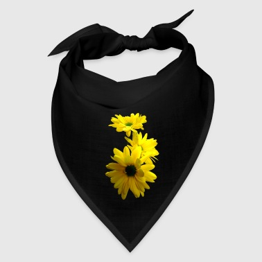 Three Bright Yellow Daisies - Bandana