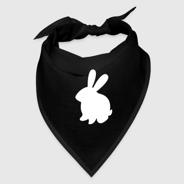 simple bunny rabbit with cute large ears - Bandana