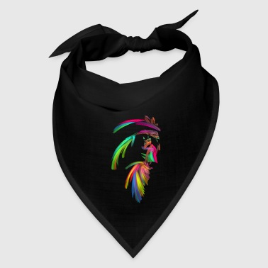 American Indian Fractal - Indian Chief - Bandana