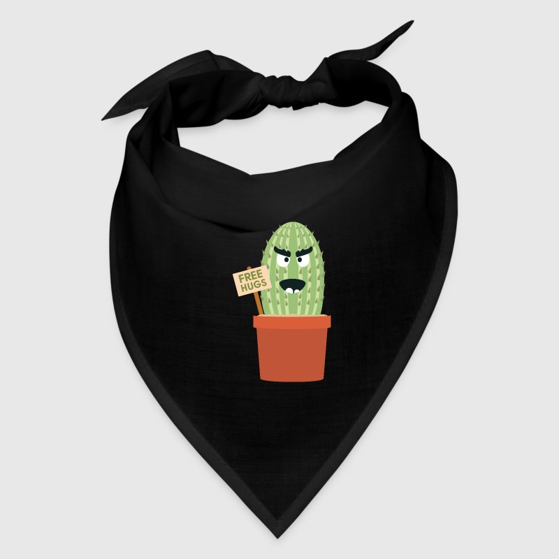 Angry cactus with free hugs - Bandana