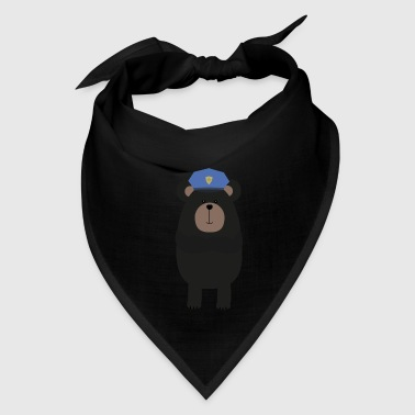 Grizzly Police Officer - Bandana