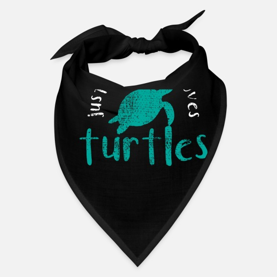 Turtle Caps - Sea Turtle - Bandana black