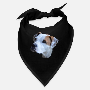 Dog Head Dog,dog head,dog face,Dog Face,Dog,Dogs,Bulldogge - Bandana