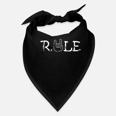 Rock And Rule Teachers Rule - Bandana