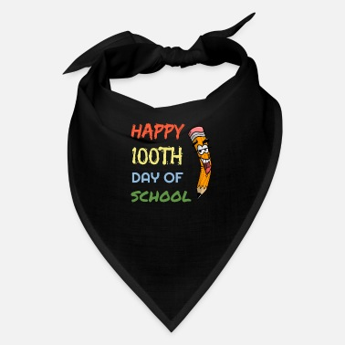 Happy Childrens Day Happy 100th days of school pencil children shirt - Bandana
