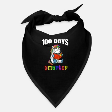 Classroom 100 days smarter unicorn reading book children - Bandana