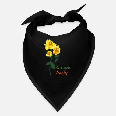 Yellow Rose yellow rose - Bandana