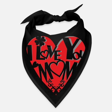 Cut Out Sweet cut out heart - motherly love - Bandana