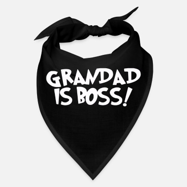 Grandad GRANDAD IS BOSS - Bandana