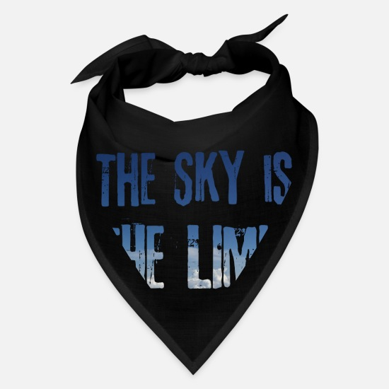 Control Caps - The Sky is the Limit / Gift Idea - Bandana black