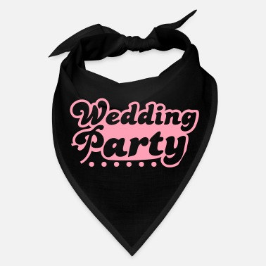 Wedding Party wedding party in pink - Bandana