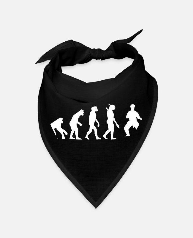 Darwin Bandanas - Evolution of Wing Chun Gift - Bandana black