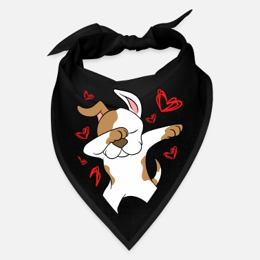 German Shepherd Valentine's Day Dabbing Dan Swag For Certified - Bandana