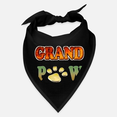 Parents Grand Paw Dog Dog Lover Grandpaw Grandpa - Bandana