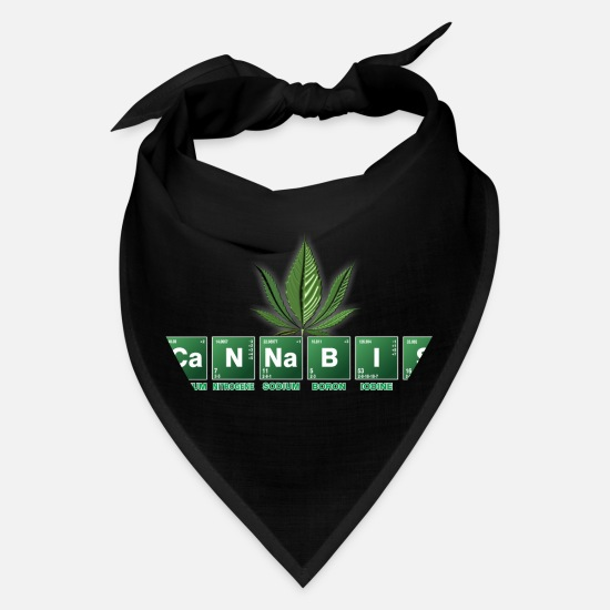 Spliff Caps - Cannabis - Bandana black