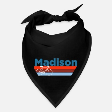 Madison Madison, Wisconsinbicycle Crewneck Madison - Bandana