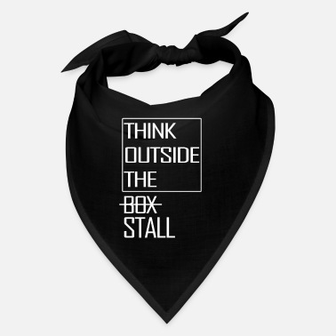 Saddle Think outside the Stall - Bandana