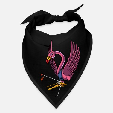 Valentine's Day Cute Flamingo Bird Cupid Valentines Day - Bandana