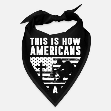 Americans This Is How Americans Take A Knee - Bandana