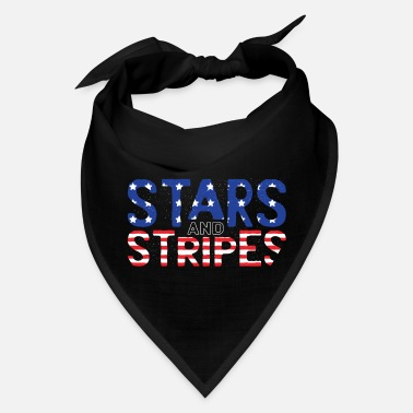 Stars and Stripes U.S. Flag - Bandana