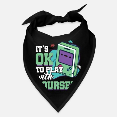 Game Videogames Gaming Computer Games Gift It's Ok To - Bandana