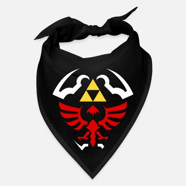 Zelda Hylian Shield Legend of Zelda vectorized - Bandana