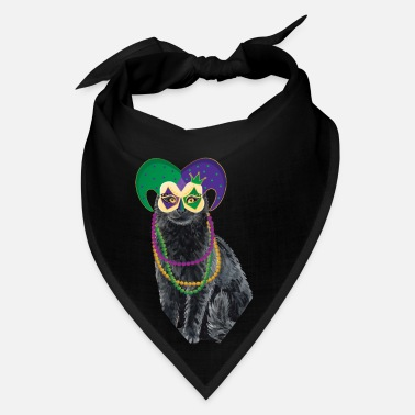 Parade Schedule Cat Mardi Gras Street Party Carnival Festival Gift - Bandana