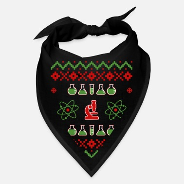 Elf Ugly Sweater Science - Christmaschristmas lightsch - Bandana