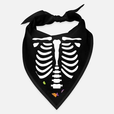 Candy Skeleton Halloween Candy - Bandana