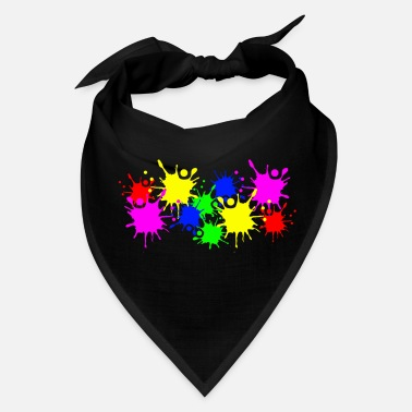 Color Splash Splashes of color splashes of color color color du - Bandana