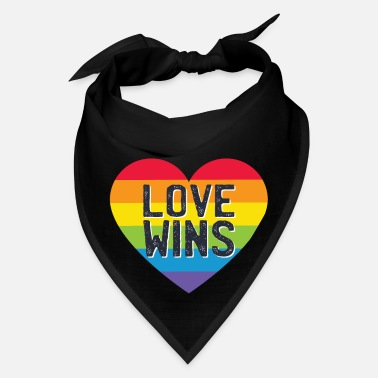 Love Wins Gay Pride - Bandana