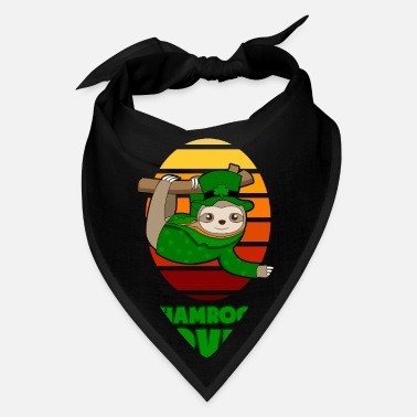 Happy Childrens Day St Patricks Day Shamrock Lover Sloth gift - Bandana