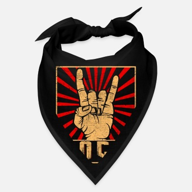 Horns rockband rocker horns finger sign - Bandana
