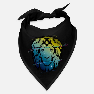 Junglecontest Awesome Galaxy lion - Bandana