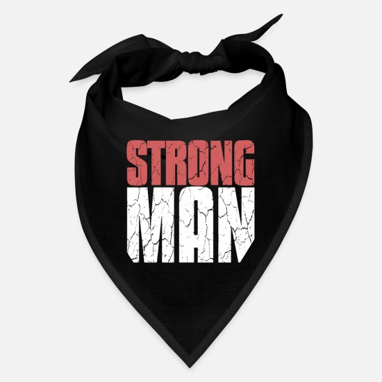 Squat Caps - Strong Man Strongman | Power Lifting, Bodybuilding - Bandana black
