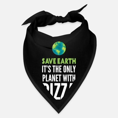 Only Plants Save Earth | Only Planet with Pizza | World - Bandana