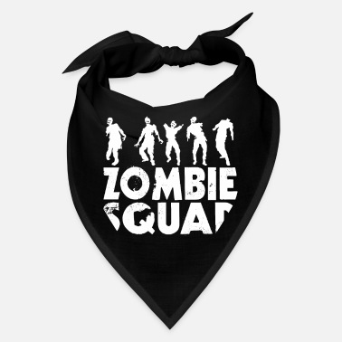 Funny Zombie Quote Zombie Squad Halloween Funny Quote Gift Zombies - Bandana