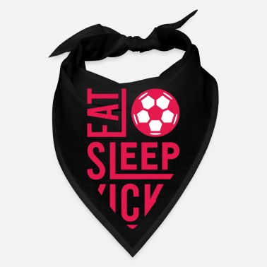 Soccer Coach Eat Sleep Kick Soccer Gifts For Soccer Players - Bandana