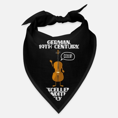 Band Cello Player Violoncellist Orchestra - Bandana