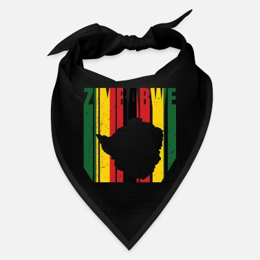 South Africa Zimbabwe Africa Shirt Gift Idea - Bandana