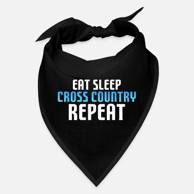 Cross Funny XC Skiing Cross-Country Ski Gift - Bandana