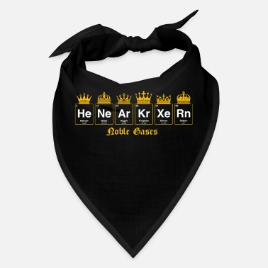 Gases Noble gases - nerdy and geeky gift (fix) - Bandana