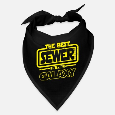Sewer Sewer The Best In The Galaxy Gift - Bandana