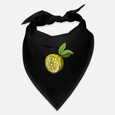 Citrus Fruits Lemon Citrus Fruit Shape - Bandana