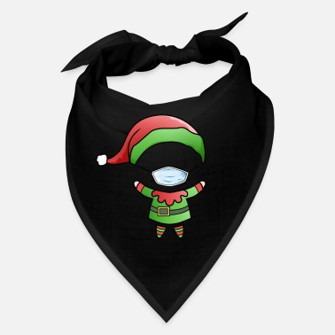 Poor Santa Claus Elf Home Office Funny office humor - Bandana