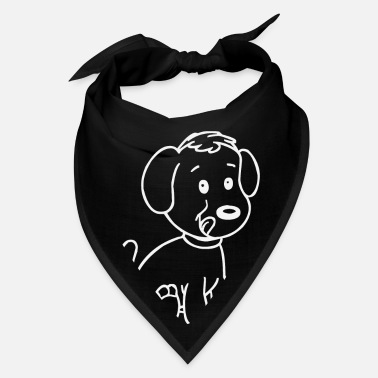 Dog Head Sweet little dog - Bandana