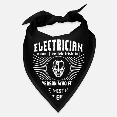 Made Electrician Fixes The MistakesT Shirt - Bandana